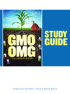 GMO OMG StudyGuide - Mrs. Cowley--- Heritage High School