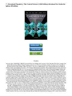 *+ Download Chemistry; The Central Science (14th Edition ...
