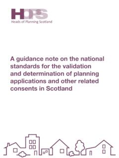 A guidance note on the national standards for the ...
