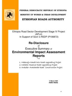 FEDERAL DEMOCRATIC REPUBLIC OF ETHIOPIA MINISTRY …