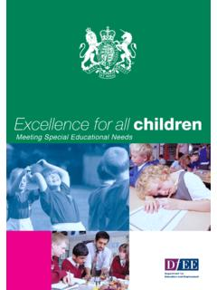 Meeting Special Educational Needs
