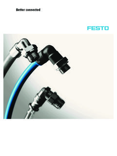 Poster collection tubing and fittings - Festo USA