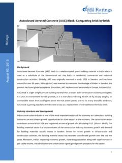 Autoclaved Aerated Concrete (AAC) Block: Conquering brick ...