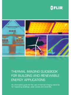 THERMAL IMAGING GUIDEBOOK FOR BUILDING …