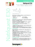 Biodegradable Chelant Natrlquest E30 - Innospec