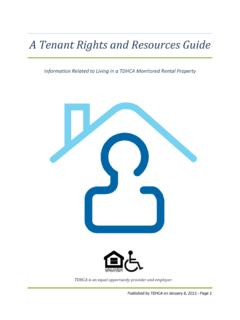 A Tenant Rights and Resources Guide - …
