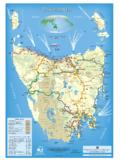 Bible Map TR - Visitor's Touring Guide to Tasmania, Australia
