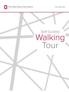 Self-Guided Walking Tour - Ohio State University