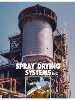 Spray Drying Systems Brochure