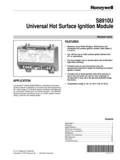 68-0161 - S8910U Universal Hot Surface Ignition Module