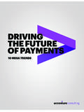 Driving the Future of Payments - Accenture