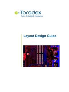 Layout Design Guide - Toradex