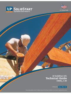U.S. Technical Guide - Engineered Wood Products