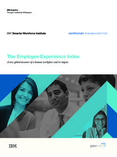 The Employee Experience Index - Globoforce