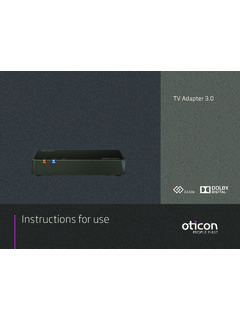 Instructions for use - oticon.com