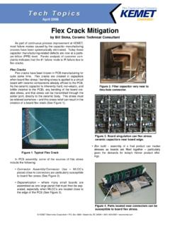 Flex Crack Mitigation - KEMET