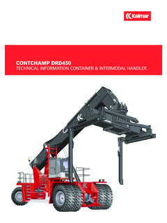 CONTCHAMP DRD450 TECHNICAL INFORMATION …
