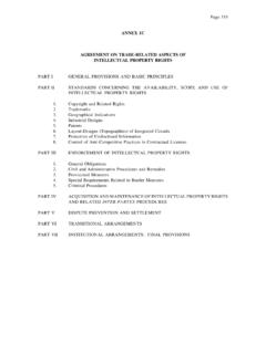 ANNEX 1C AGREEMENT ON TRADE-RELATED …