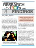 February 2006 Teen Dating Violence - ACT for Youth