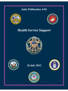 JP 4-02, Health Service Support