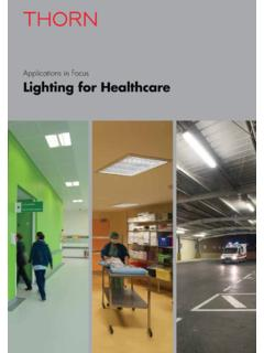 Applications in Focus Lighting for Healthcare - …