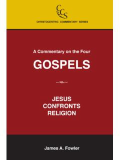 A Commentary on the Four GOSPELS - Christ in You