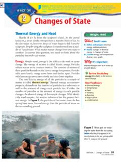 8.3.10: Changes of State - centergrove.k12.in.us