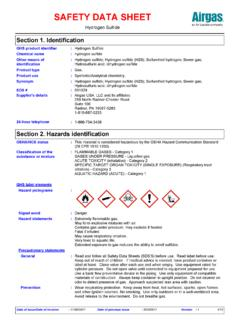 SAFETY DATA SHEET - Airgas