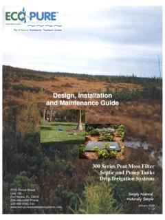 Design, Installation and Maintenance Guide