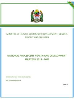 NATIONAL ADOLESCENT HEALTH AND DEVELOPMENT …