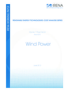 Renewable Energy Cost Analysis: Wind Power
