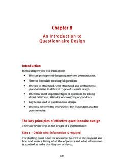 An Introduction to Questionnaire Design - B2B International