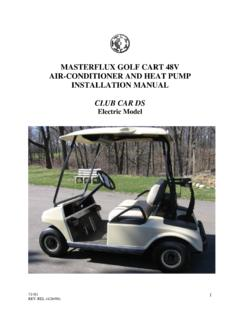 MASTERFLUX GOLF CART 48V AIR-CONDITIONER …