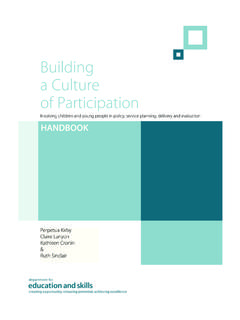 Building a Culture of Participation - UCL Institute of ...