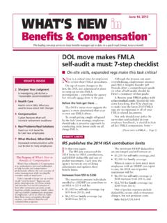 DOL move makes FMLA self-audit a must: 7-step checklist