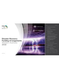 Disaster Recovery Funding Arrangements Western Australia …