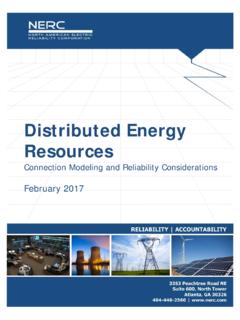 Distributed Energy Resources - nerc.com