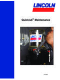Quicklub Maintenance - Lube Systems of Ca Inc