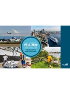 PORT OF SEATTLE 2018-2022