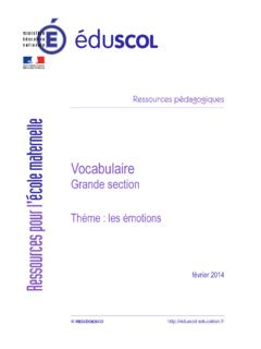Vocabulaire - cache.media.eduscol.education.fr