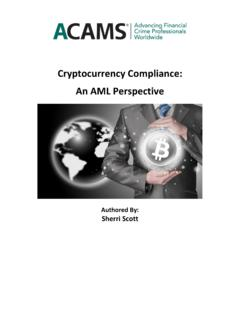 Cryptocurrency Compliance: An AML Perspective - …