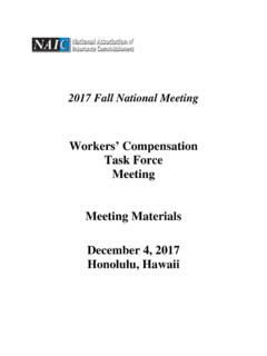 Materials-Workers' Compensation (C) Task Force