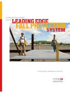 Leading the Way to Safety with the Leading edge Fall ...