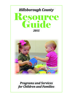 Hillsborough County Resource Guide - Healthy …