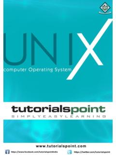 Unix - Tutorials Point
