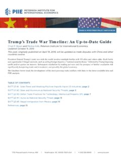 Trump's Trade War Timeline: An Up-to-Date Guide
