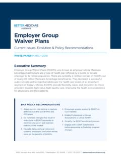 Employer Group Waiver Plans - …