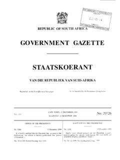 GOVERNMENT GAZETTE STAATSKOERANT - westerncape.gov.za