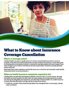 What to Know about Insurance Coverage Cancellation