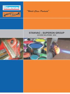 STANVAC - SUPERON GROUP